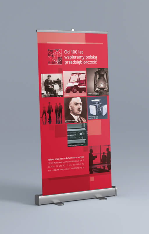 Design example - exhibition rollups