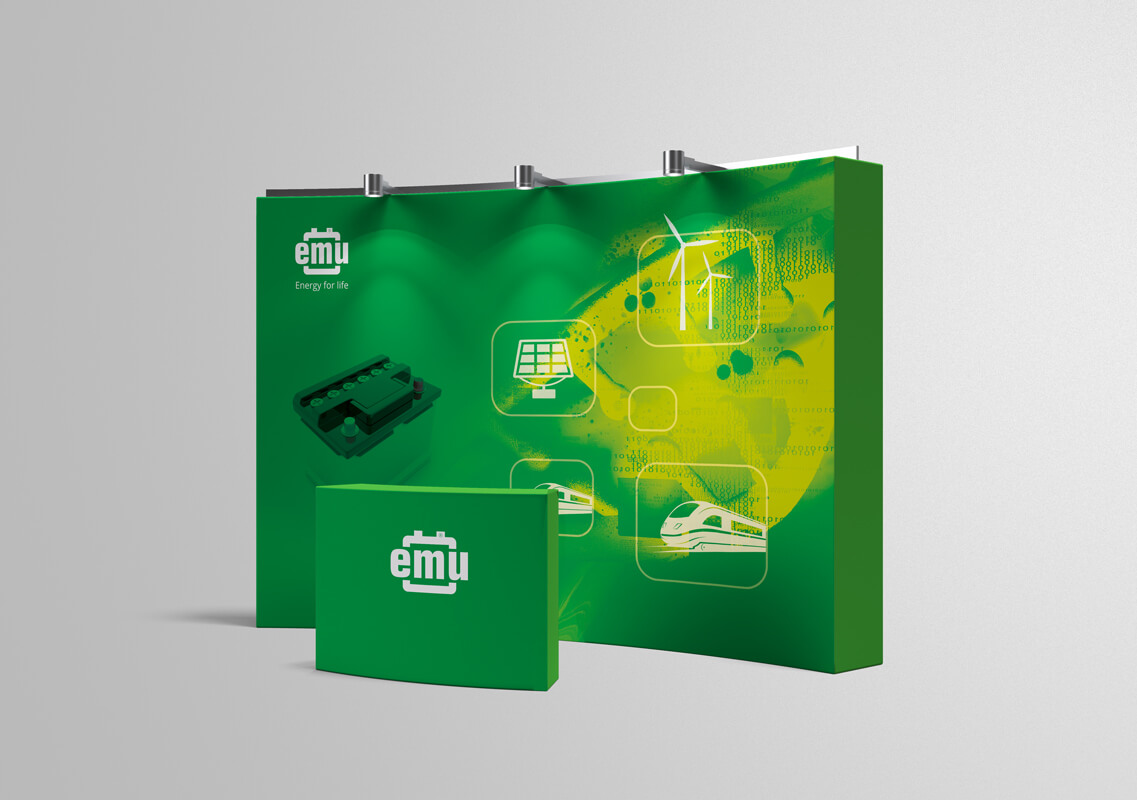 Design example - exhibition stand