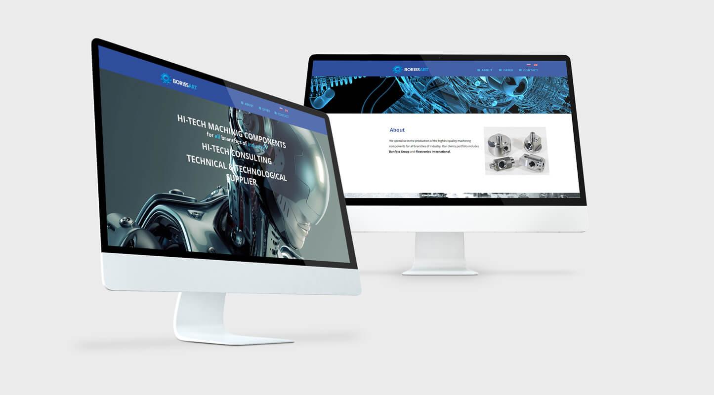 Design example - website