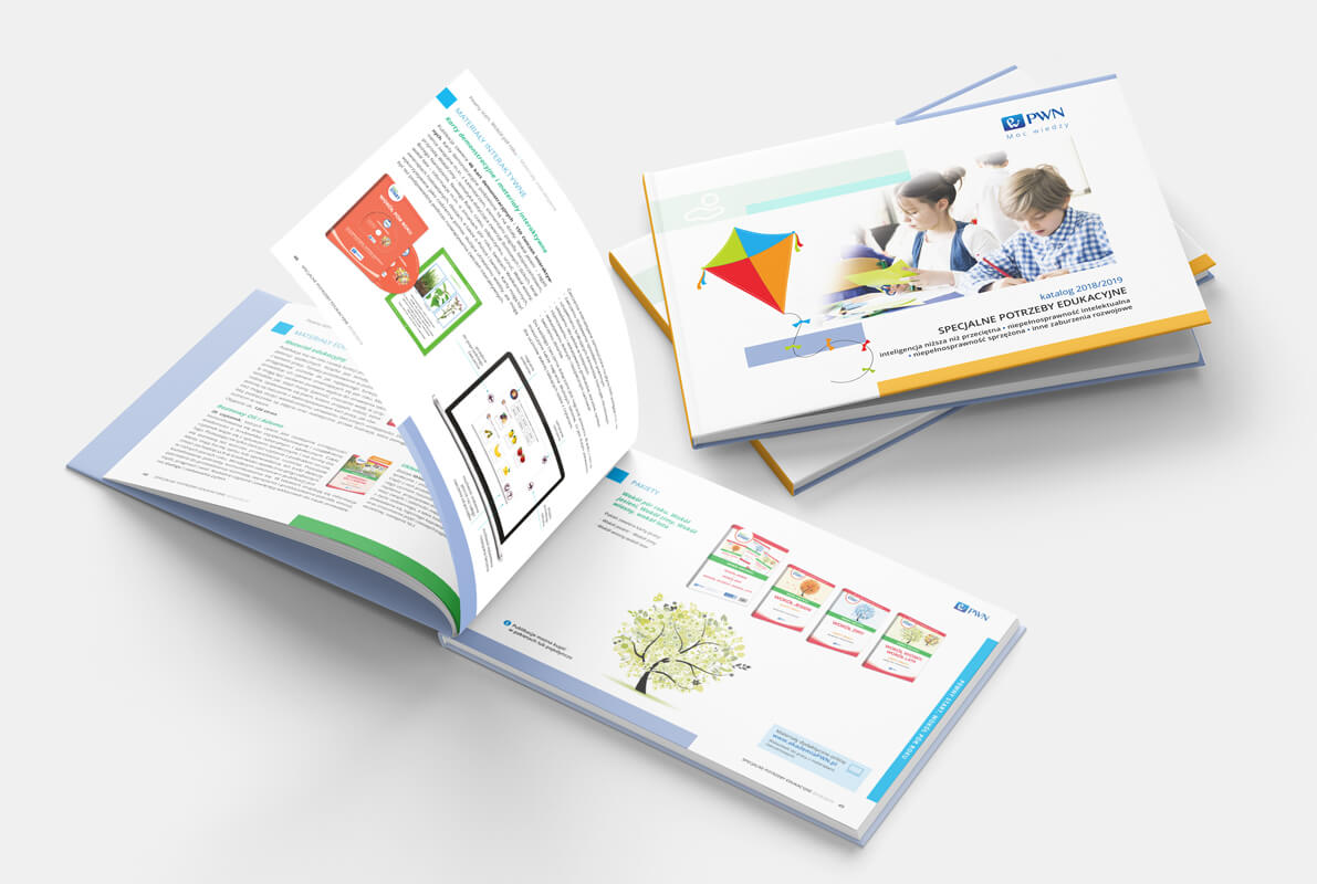 Design example - product catalogue