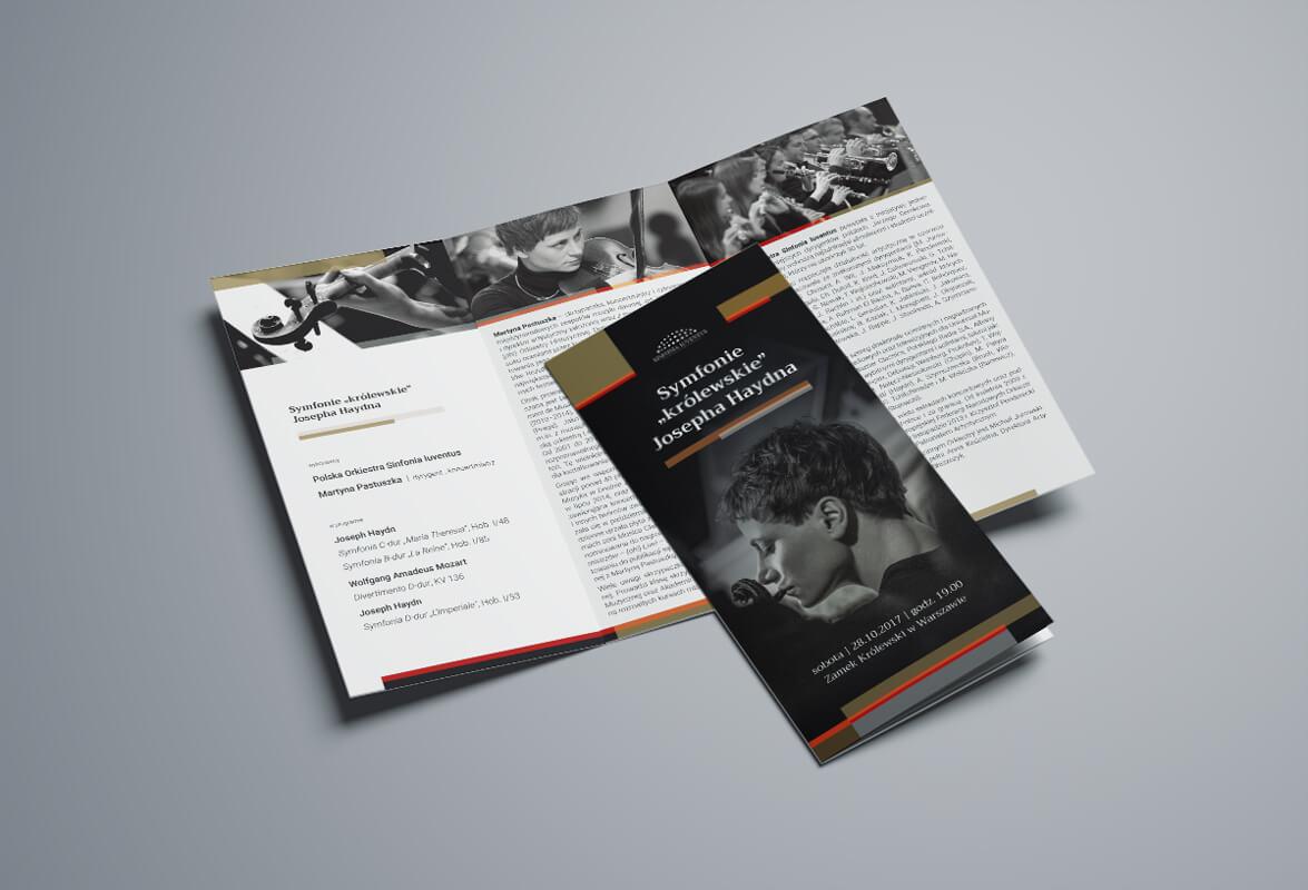 Design example - symphonic concert programme