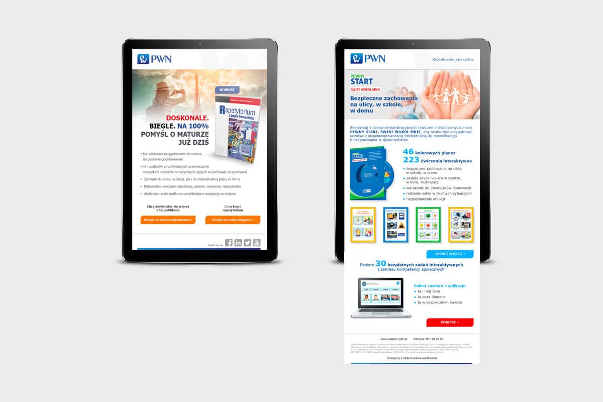 Design example - newsletter