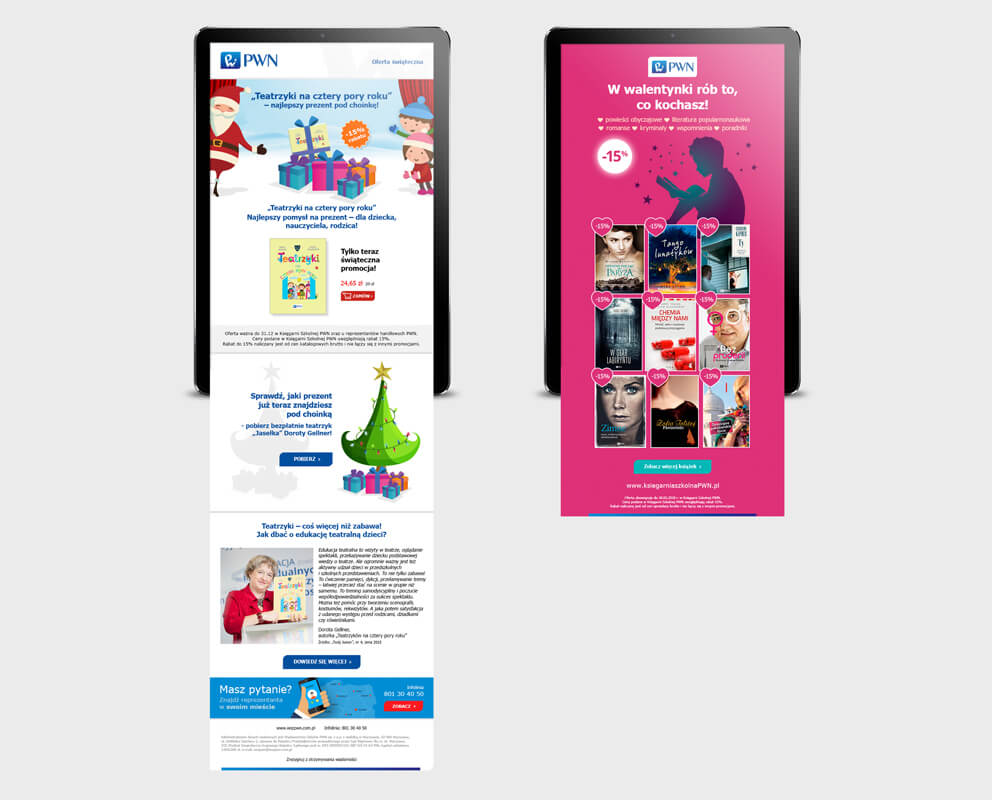 Design example - newsletter