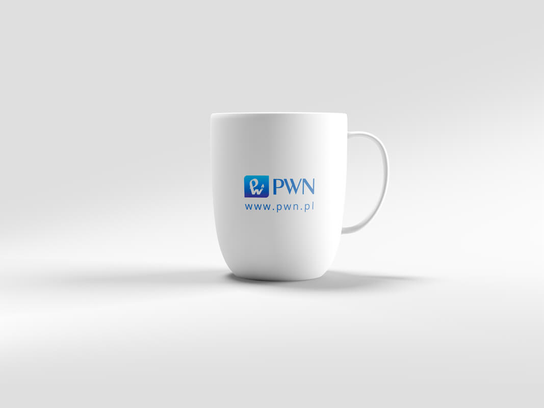 Design example - corporate identity: cup