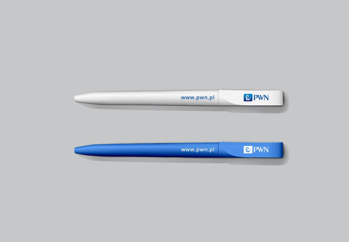 Design example - corporate identity: pen