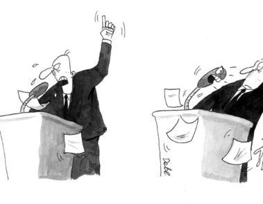 Graphic design example: cartoon